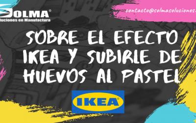 Sobre el efecto Ikea y subirle de huevos al pastel